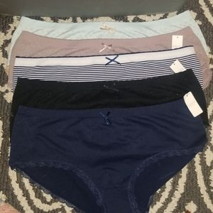 NWT LOVE by Gap seamless hipster underwear. XL